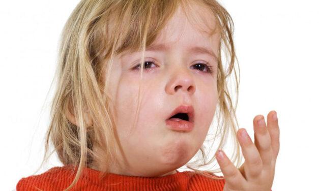 La tosse del bambino