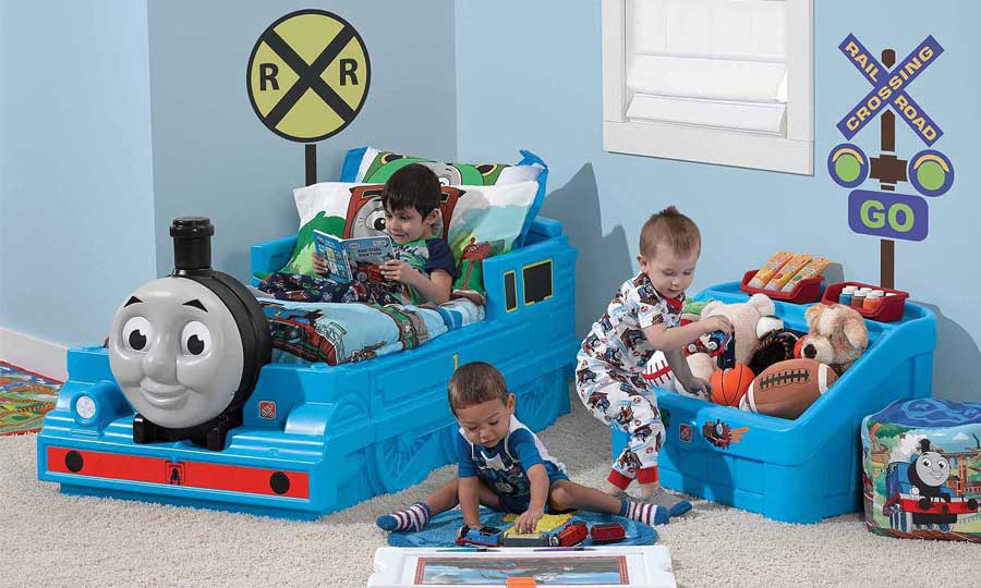 Little Tikes Thomas Friends Train Bed