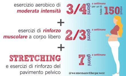 I benefici del movimento fisico in gravidanza