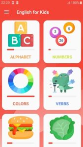 app inglese per bambini