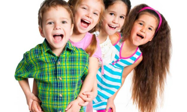 Bambini e bambine a confronto