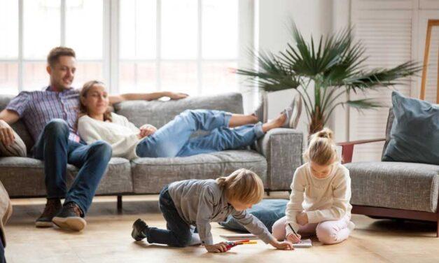 Giornate in casa con i bambini: come trascorrere il tempo