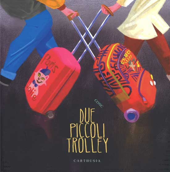 due piccoli trolley libro