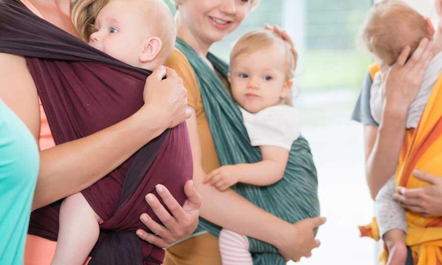 Fascia porta bebè