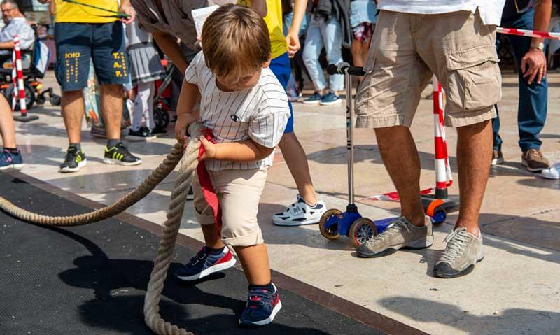 festival giochi di strada fune