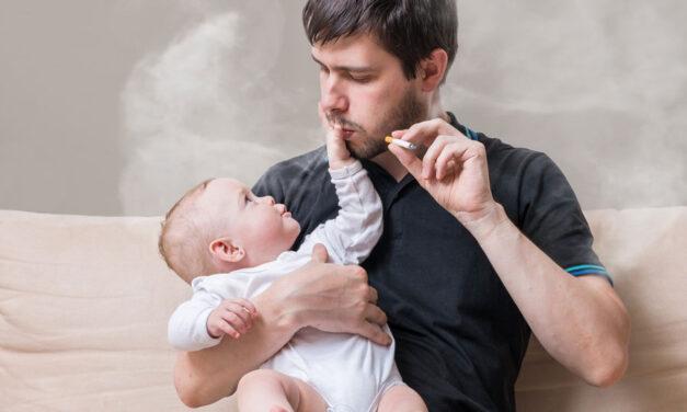 Danni del fumo passivo sui bambini