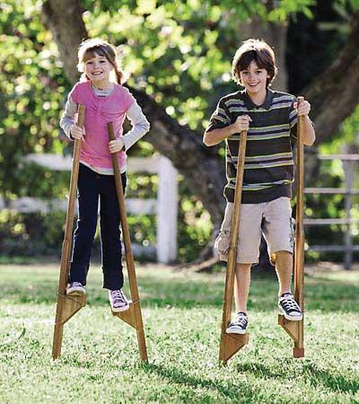 Stilt-walking