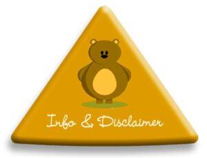 info & disclaimer