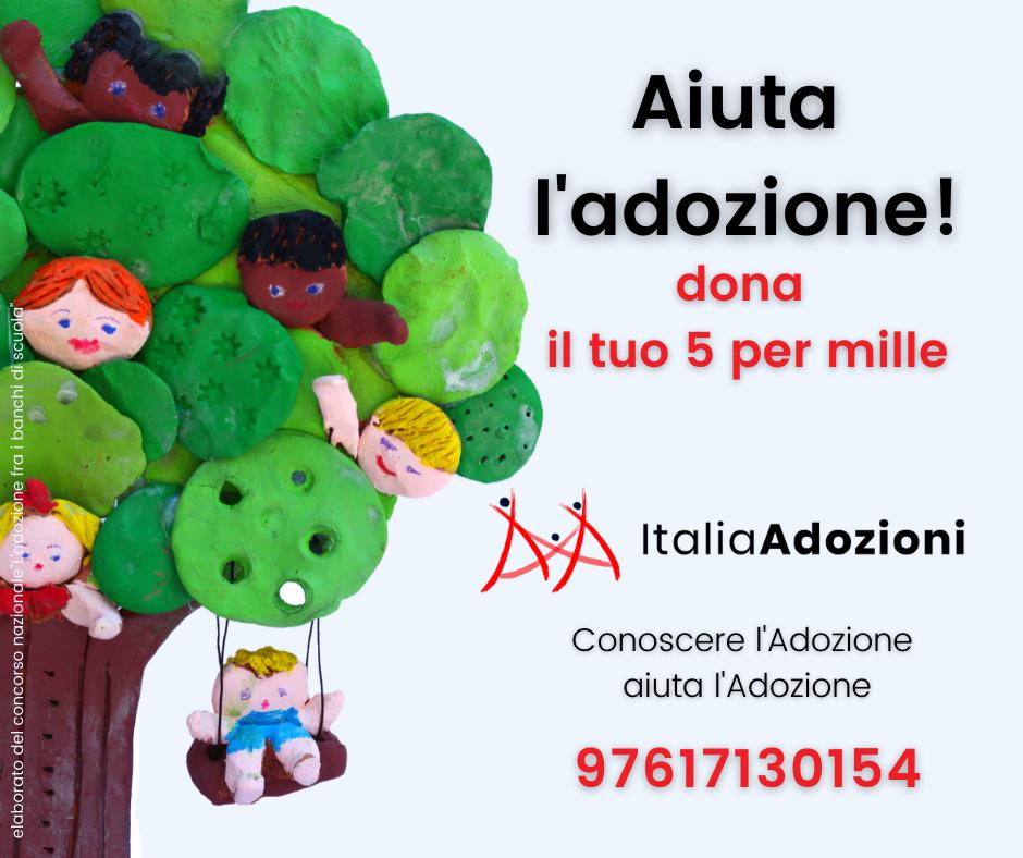 italia adozioni 5 per mille