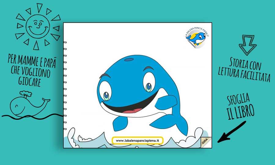 La balena pancia piena