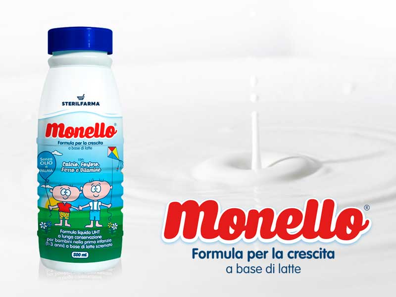Monello latte liquido
