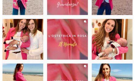 L'ostetrica in rosa: sui social per aiutare tutte le donne