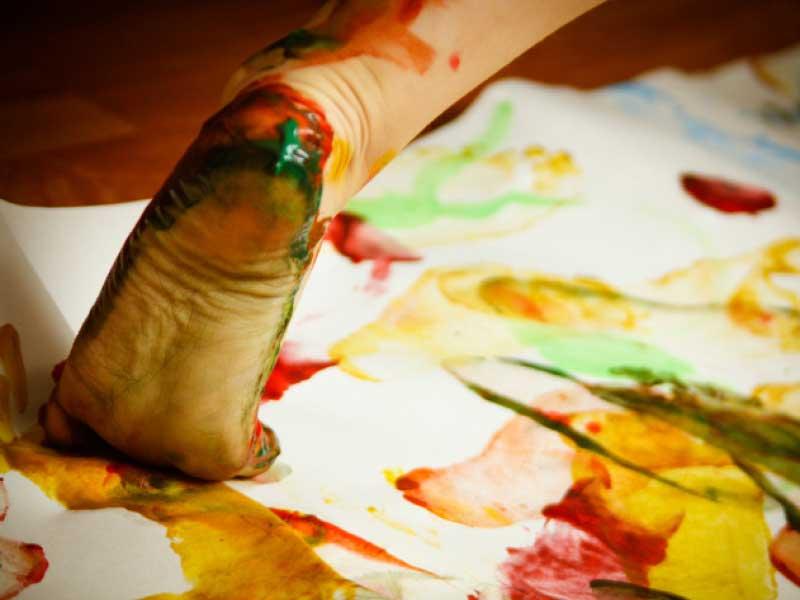 """Crescere con """"l'impronta artistica"""""""