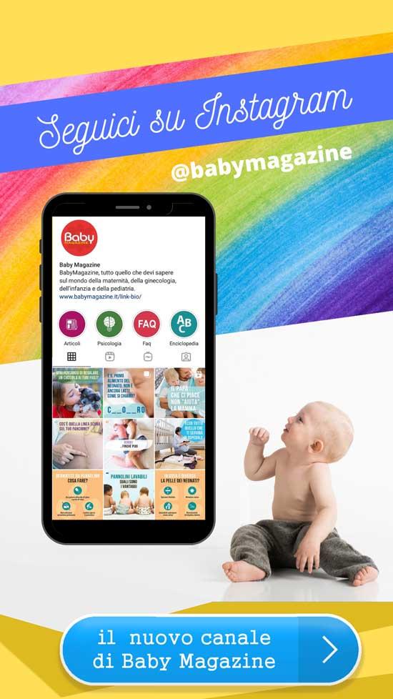 segui Baby Magazine su instagram