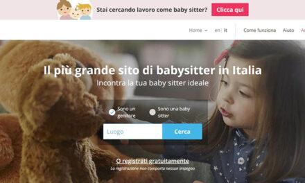Sitly, il più grande sito di babysitter in Italia